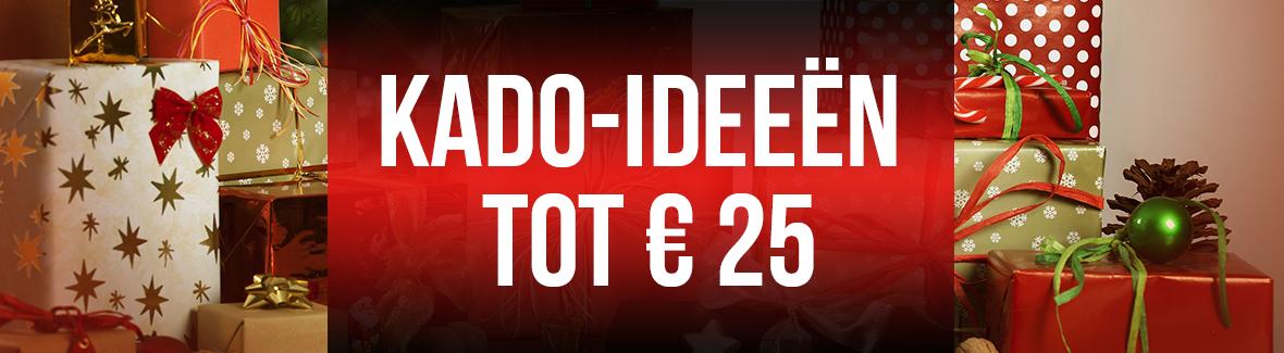 Decemberkado's tot 25 euro