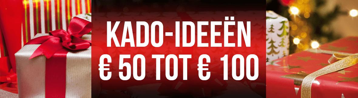 Decemberkado's van 50 tot 100 euro