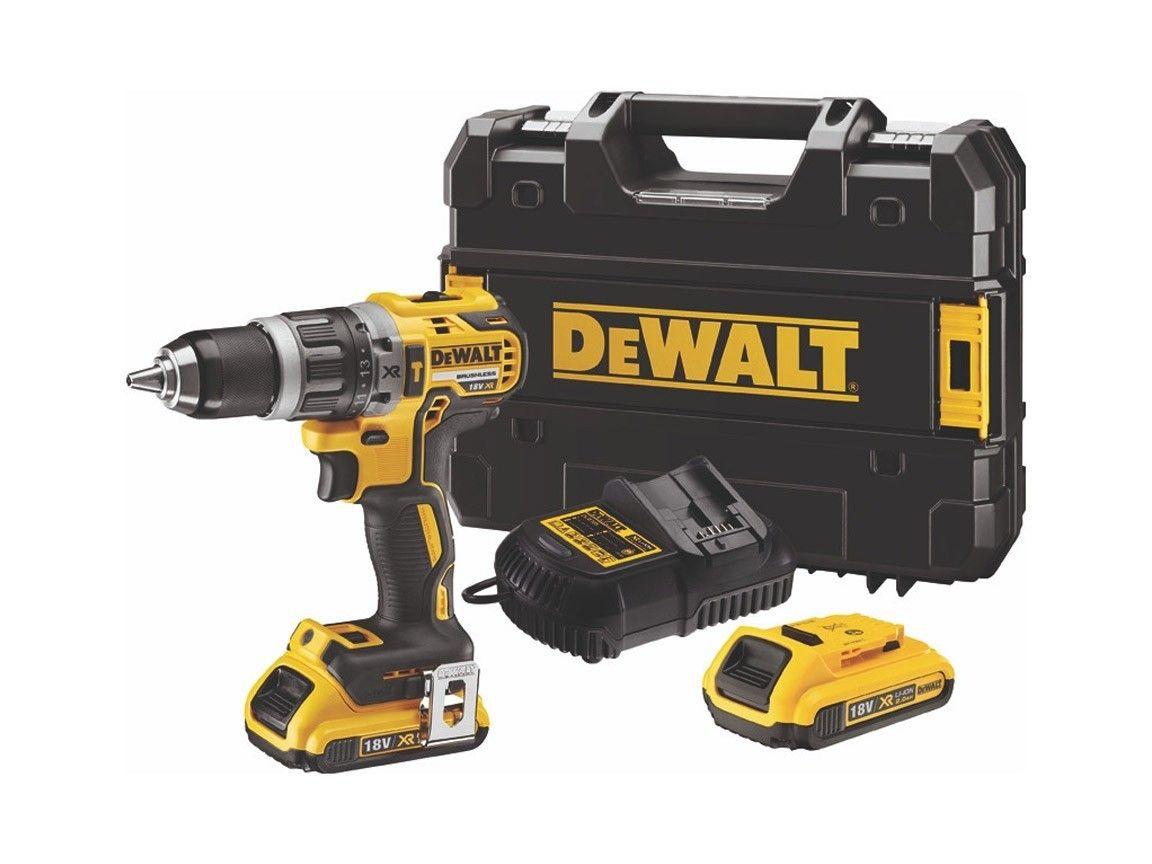 DeWALT DCD796D2-QW 18 V Schroefklopboormachine met 2 accu's