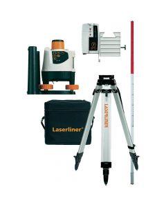 Laserliner BeamControl-Master 120 laser Set met statief en ontvanger