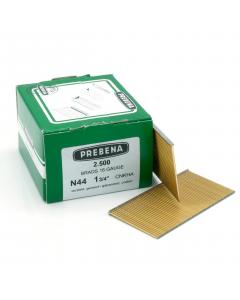 Prebena brads 44mm verzinkt glad type N