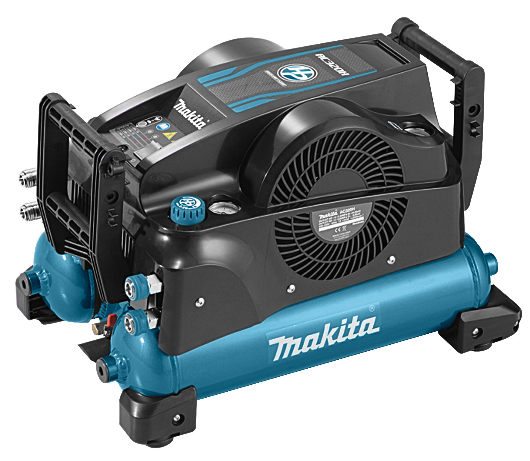 makita ac320h 230 v 22 bar high pressure compressor voor bij. Black Bedroom Furniture Sets. Home Design Ideas