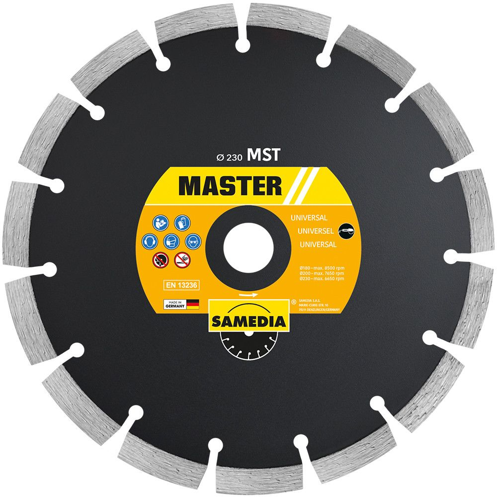 The master mst blade shows great versatility in building materials. a solid value for different cuts. 1 1 1 1 1