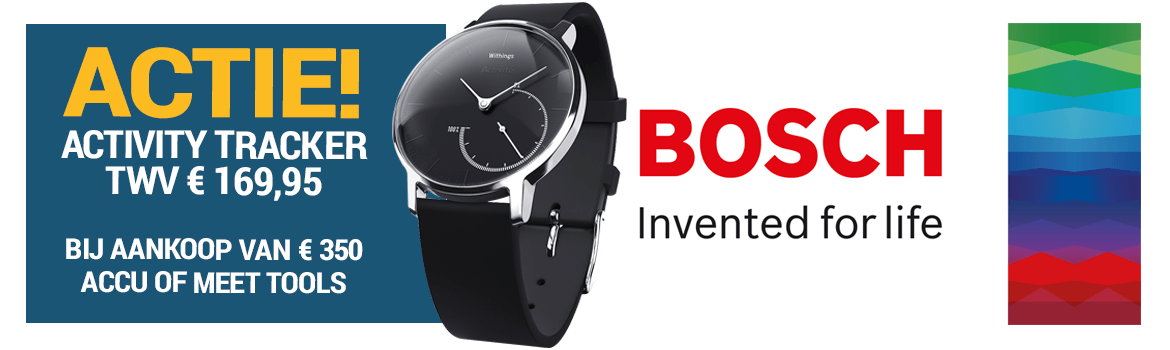 Bosch activity tracker