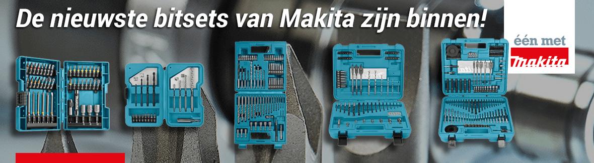 De nieuwste bitsets van Makita zijn binnen!